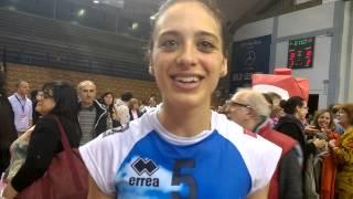 #POTricoloriA1FVolley - Casalmaggiore-Conegliano 3-2: Imma Sirressi