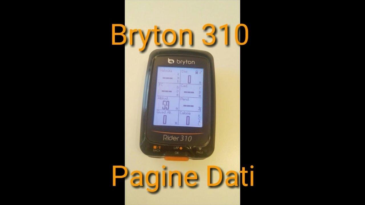 dati bryton 310