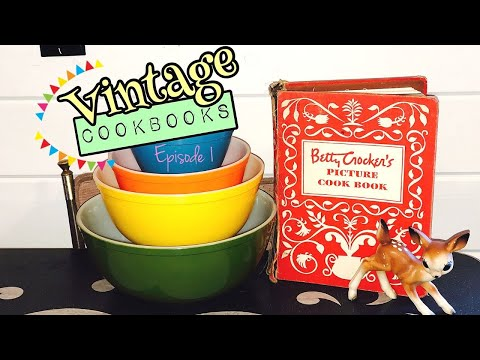 1950 Betty Crocker's Picture Cook Book Flip Through + Review | Vintage Cookbooks Episode 1
