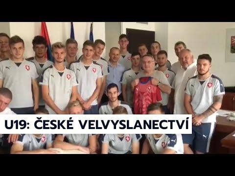 U19 v Arménii: přijetí od českého velvyslance