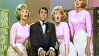 The McGuire Sisters and Dean Martin:   boy names medley...until they got to DEAN!