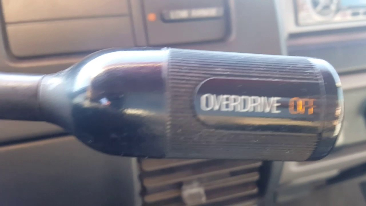 1996 Ford Bronco - E4OD - Overdrive Light Flashing