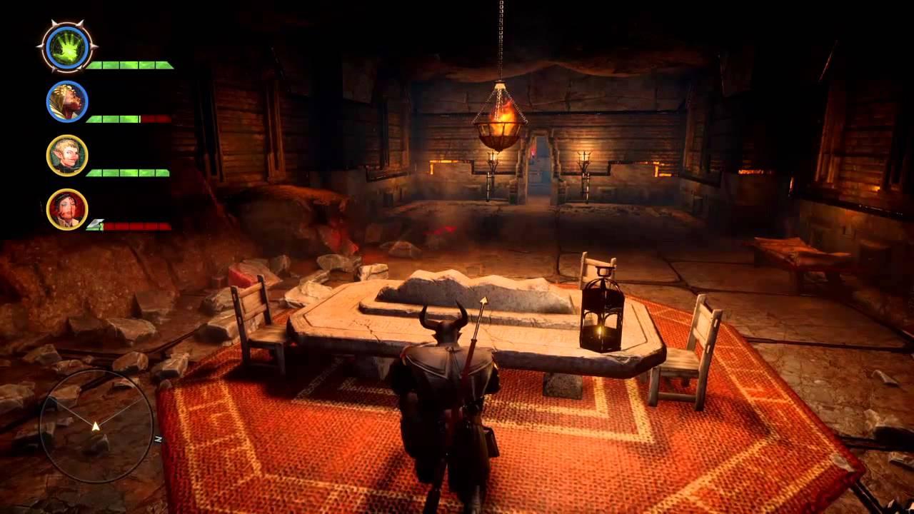 Dragon Age Inquisition Valammar Cave Secret Bug Youtube