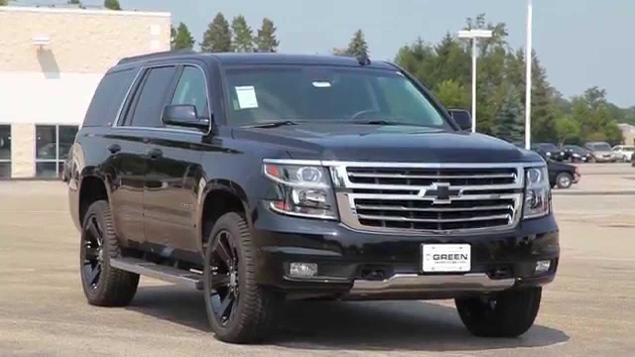 2016 Chevrolet Tahoe Z71 Quick Look  YouTube