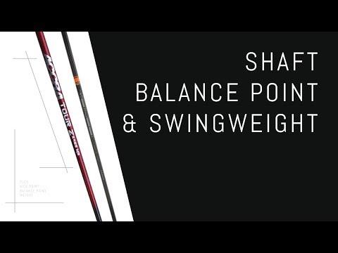 Shaft Balance Point & Swingweight