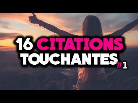 Citations sur la Vie touchantes et émouvantes #1