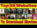 Top 65 Website to download Movies   All Language Movie Downloding Website,Fully Unblock Website