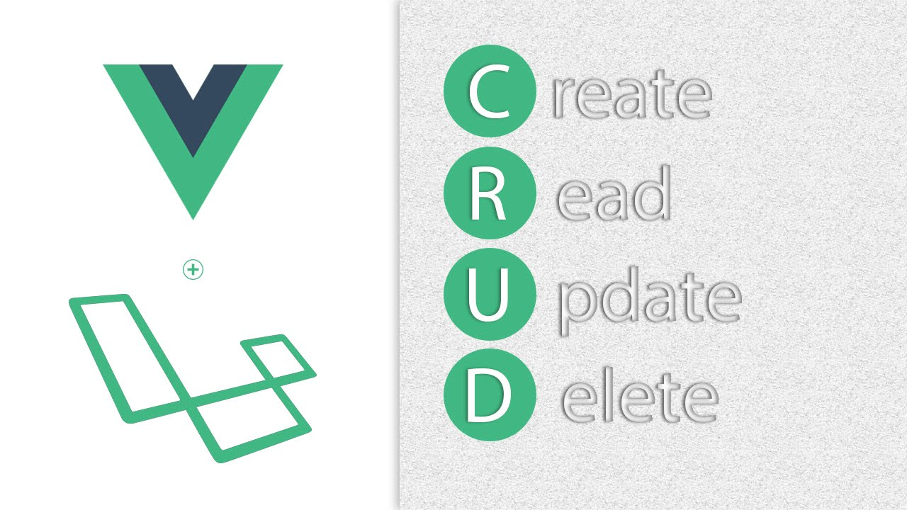 CRUD with Vue JS