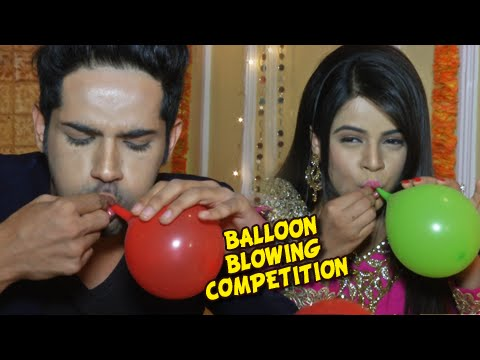 Balloon Competition Between Thapki And Dhruv On Children's Day   Thapki Pyaar Ki   Colors