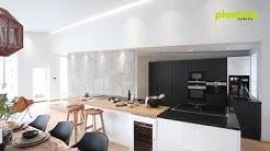 Pientalokanava: Esittelyssä moderni mustavalkoinen keittiö