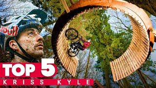 Les meilleurs montages de vélo de Kriss Kyle   Top 5 Red Bull