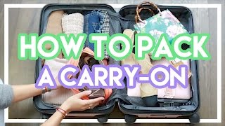 How To Pack A Carry On + Gucci Bag Giveaway!!!! | Amelia Liana
