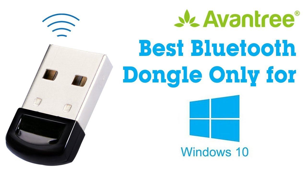 The Best Bluetooth Dongle for Win 10 PC - Plug & Play - Avantree DG40SA  Video Guide