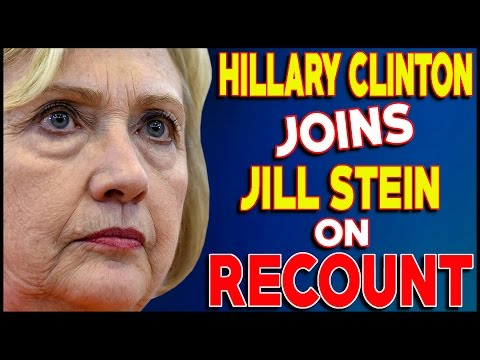 Hillary Clinton Campaign Joins Jill Stein In Demanding Recount