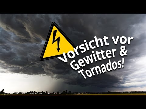 3-Tage-Vorhersage: Neue Unwetter mit Tornadogefahr drohen!