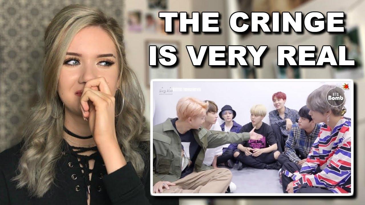 BTS awkward & embarrassing moments reaction (oh my) // ItsGeorginaOkay