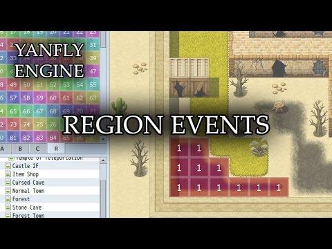 YEP 17 - Region Events - RPG Maker MV