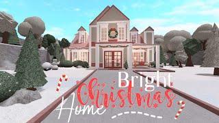 Bloxburg: Bright Christmas Home | Speed-Build