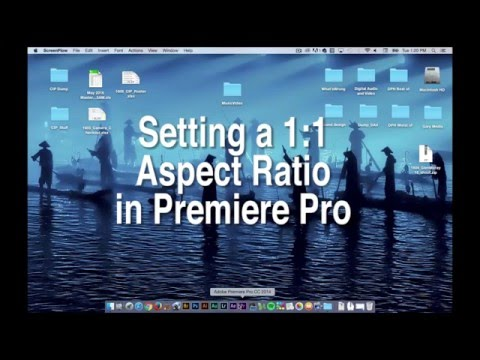 Give Your Video A 1 to 1 Aspect Ratio in Premiere Pro