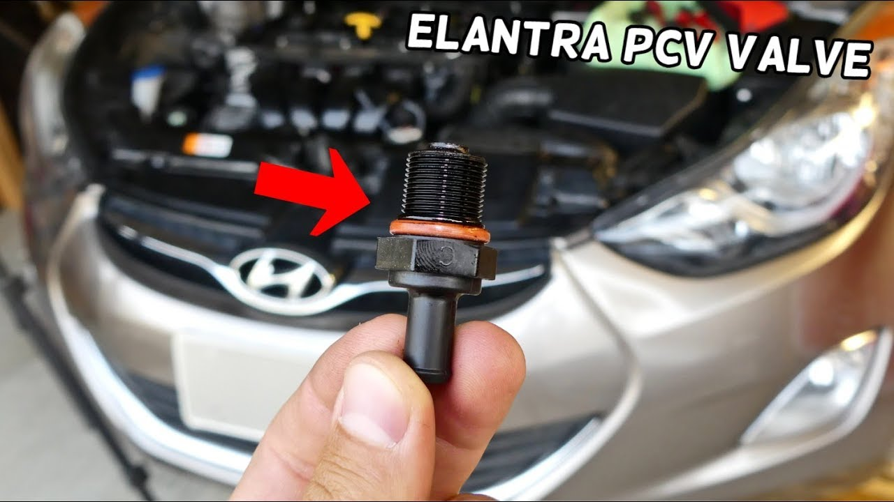 Used Hyundai Accent >> HOW TO REPLACE PCV VALVE ON HYUNDAI ELANTRA - YouTube