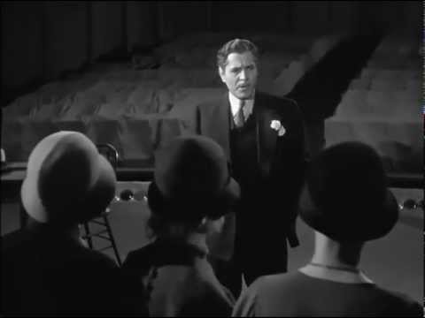 The Big Speach of Warner Baxter @42nd Street, 1933
