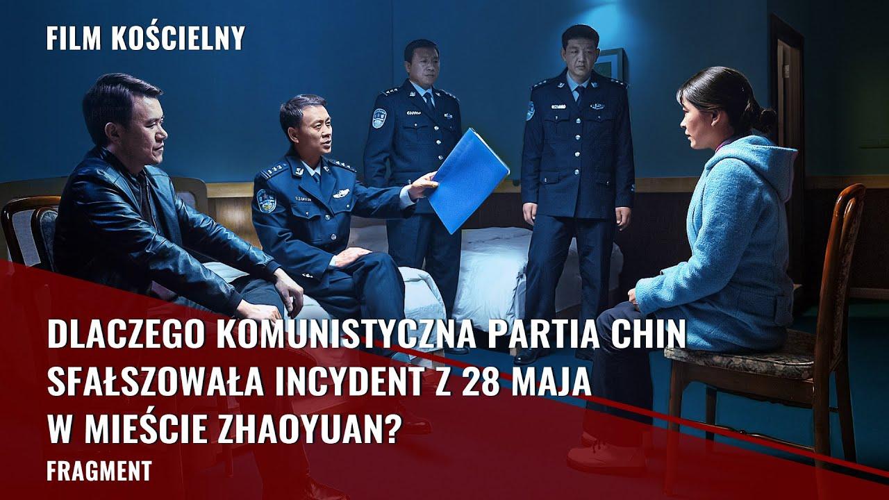 """Film chrześcijański """"Słodycz w niedoli"""" Klip filmowy (5) – Dlaczego Komunistyczna Partia Chin sfałszowała incydent z 28 maja w mieście Zhaoyuan?"""