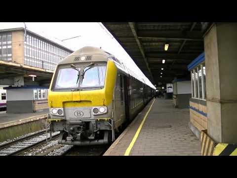 Treinen in Brussel-Zuid 2012 - Dagje door België
