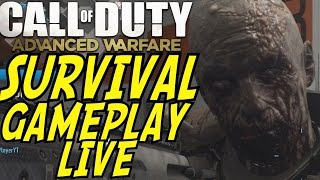 Call of Duty: Advanced Warfare EXO SURVIVAL GAMEPLAY! 30+ Mins NEW CO-OP Mode