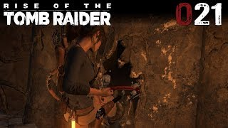 Rise of the Tomb Raider 021 | Die versteckte Höhle | Let's Play Gameplay Deutsch thumbnail