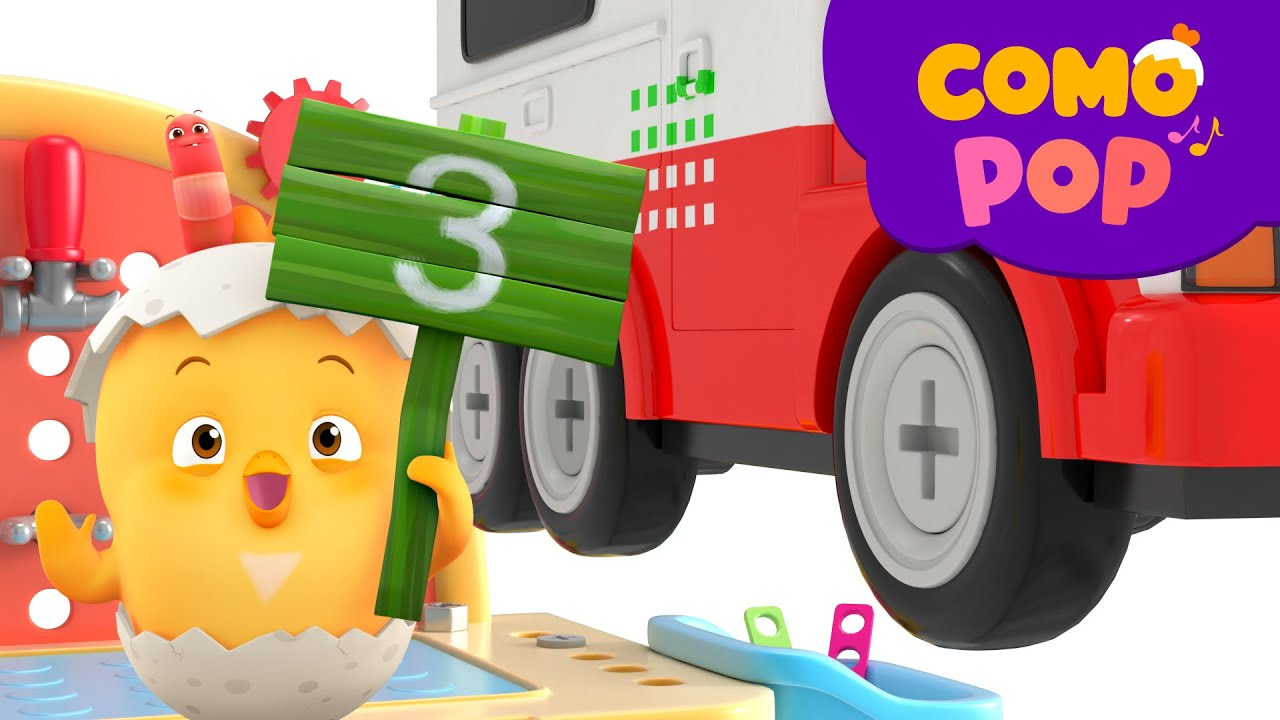 Como Pop | Kids Songs | Toy Cars | Cartoon video for kids | Como Kids TV