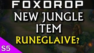 Runeglaive Thoughts - New AP Jungle Item