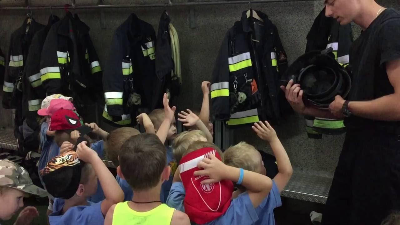 Wycieczka do Straży Pożarnej - Grupa Niebieska @ Jednostka Ratowniczo - Gaśnicza | Białystok | podlaskie | Polska