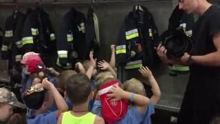 Wycieczka do Komendy Miejskiej Państwowej Straży Pożarnej w Białymstoku 2017 Video