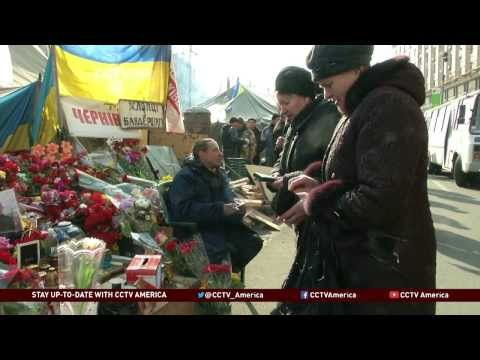 Ukrainians Continue to Mourn Protesters Killed