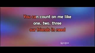 Count On Me (Ukulele Instrumental Karaoke)