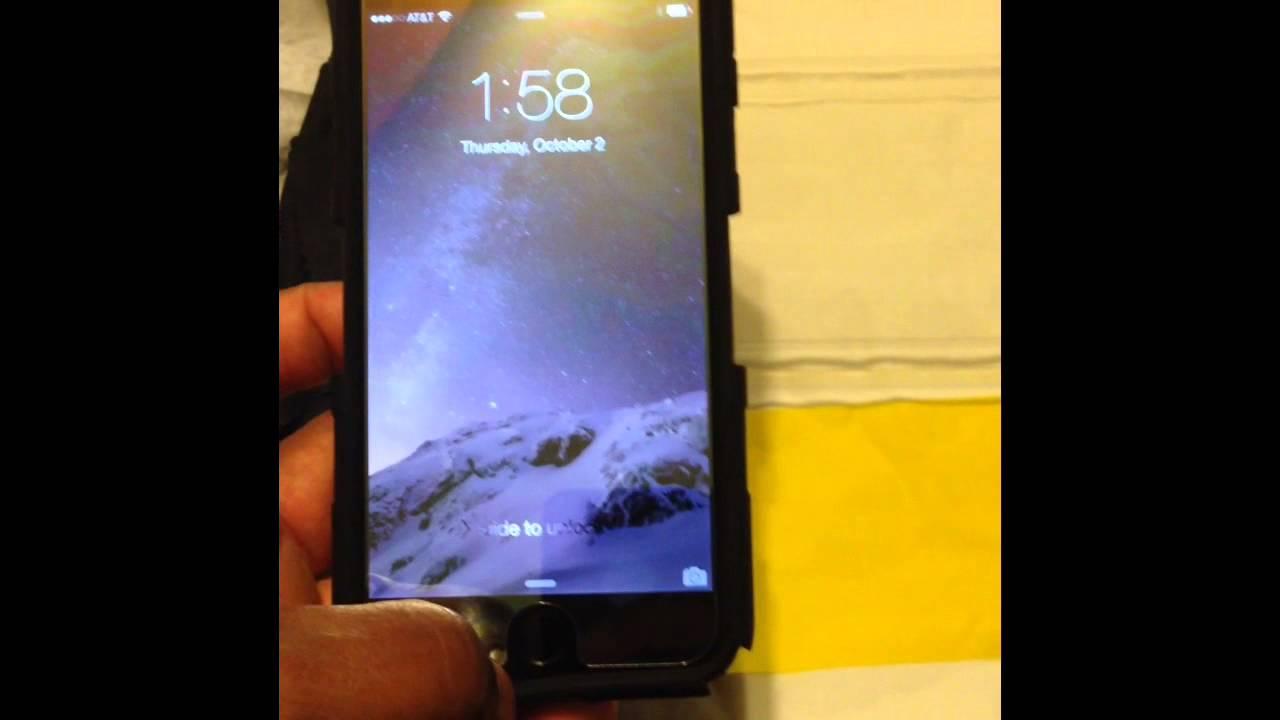 Zag Invisible Shield Mirror Glass Iphone6 Youtube