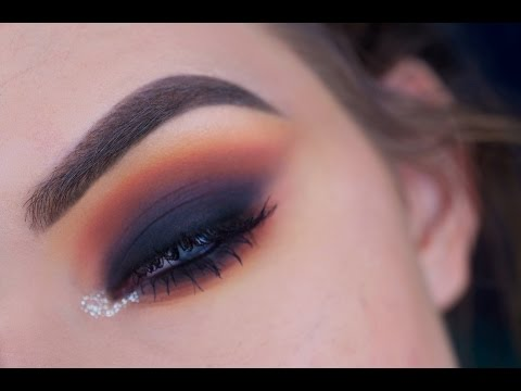 Intense Smokey Eye With Colorful Crease Eye Makeup Tutorial