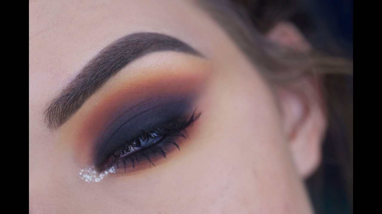 Intense Smokey Eye w/ Colorful Crease Eye Makeup Tutorial ...