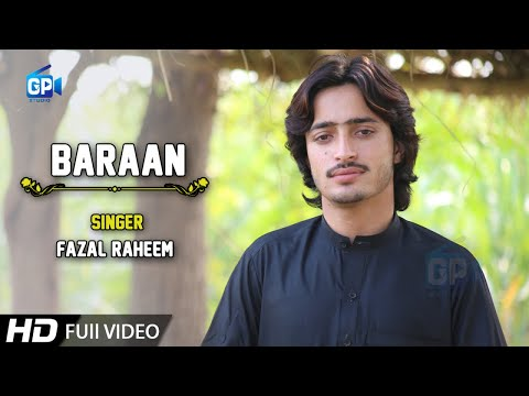 Pashto New Song 2019 Baraan By Fazal Raheem - Pashto Music Pashto Video song 2018 latest songs hd