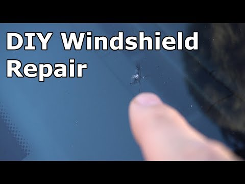 DIY Windshield repair on a Jaguar F-Type S