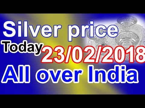 Silver price today in India  buy silver  silver buying price  silver rate in Chennai,Hyderabad