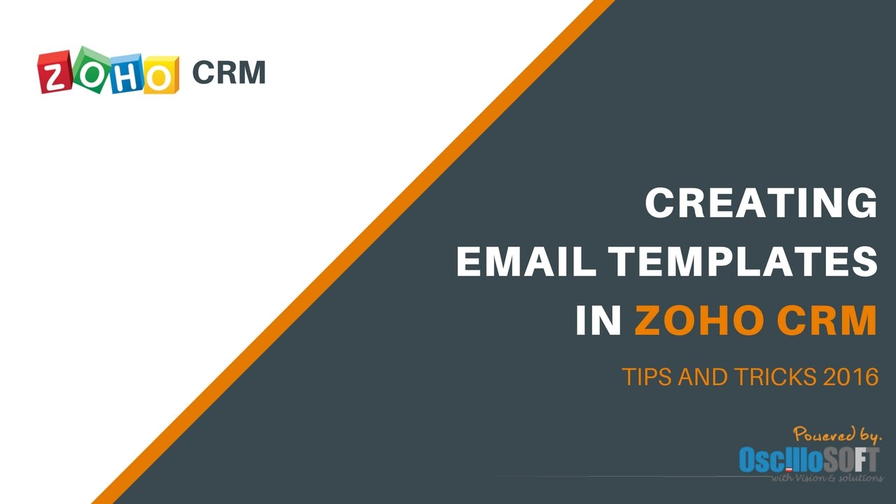 How To Create Gorgeous Email Templates in Zoho CRM: The Easy Way ...