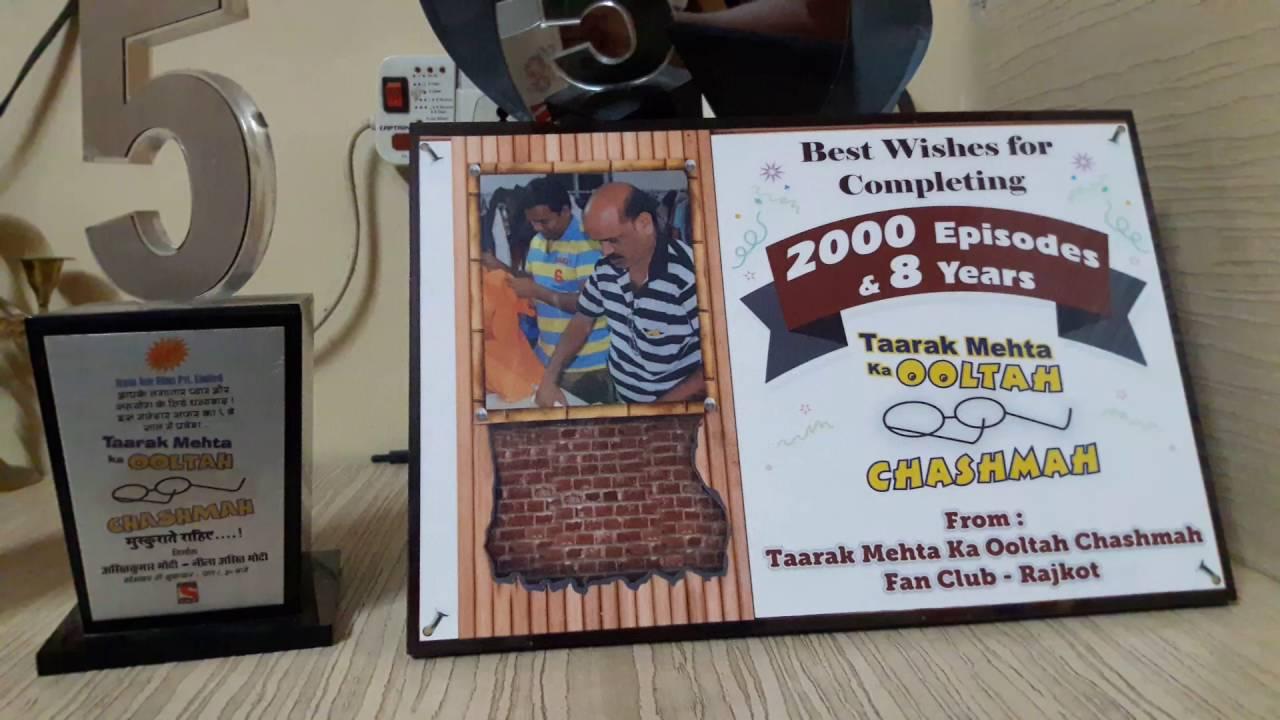 Download Taarak Mehta My gift ( 1000 Epi,5 year ,2000 Epi)