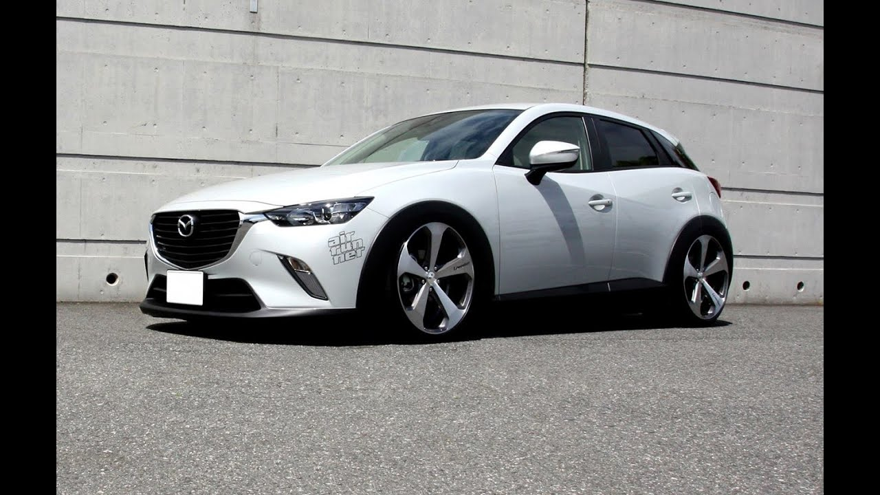 Mazda Cx 3 Air Runner Lowered On Lowenhart Lv5 Wheels