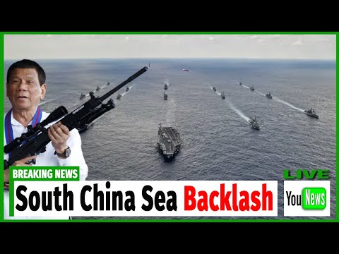 South China Sea backlash as Philippines protests 'provocative acts' of Beijing.