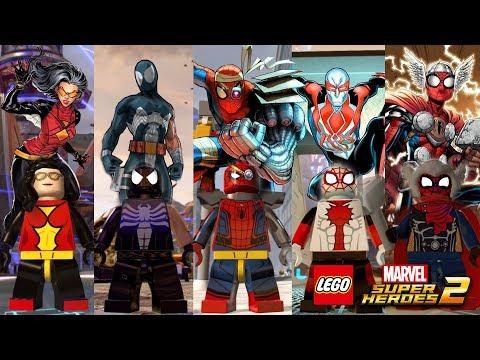 LEGO Marvel Superheroes 2 - Spider-Verse (Part 4) Custom