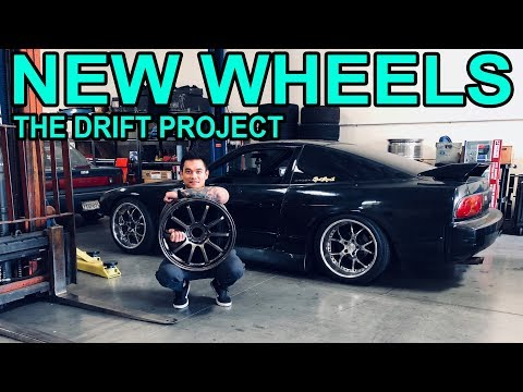 I GOT New Wheels for the Drift Project! 240sx