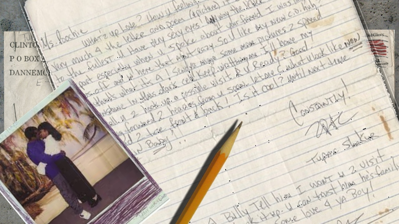 Rare Handwritten Prison Letter Shows Tupac's Skill With ...