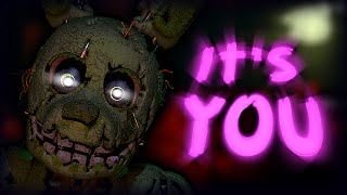 Spring-Trap And The Night-guard || Five Nights At Freddy