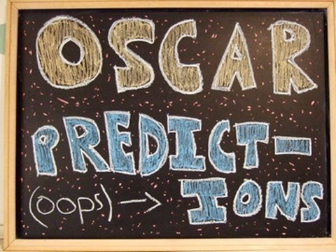 OSCAR PREDICTIONS - In this video Dan predicts this year's Oscar winners, and rants a little bit about movies that should and shouldn't have been nominated for 'Best Picture'.